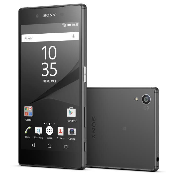 Téléphone Mobile Sony Xperia Z5 32 Go Noir