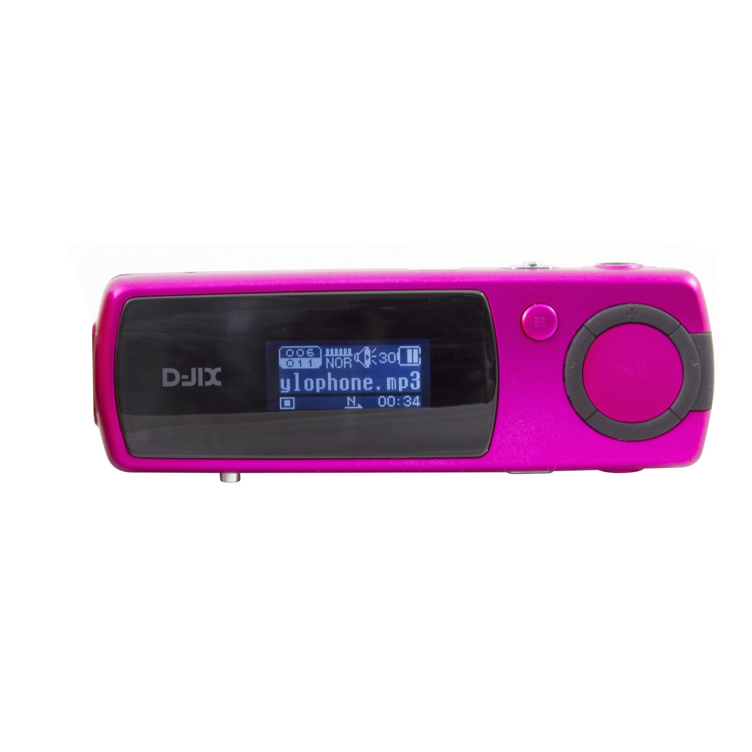 D-JIx Yuno 20 - Lecteur MP3/Dictaphone double prise jack - 2Go