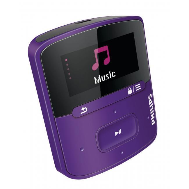 PHILIPS Lecteur MP3 GoGEAR Raga 2Go Violet