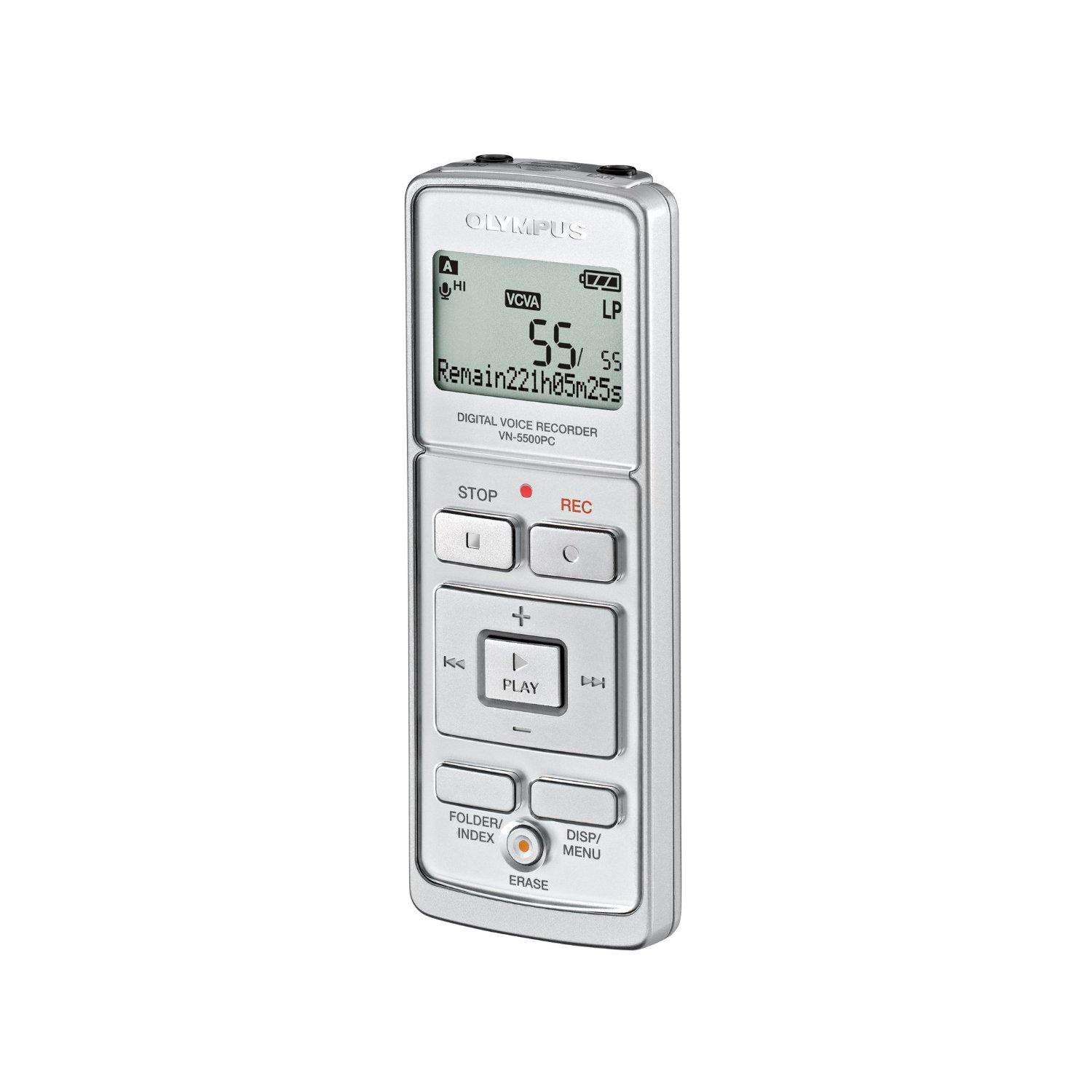 Olympus -  Dictaphone numérique - VN-5500PC 512 Mo
