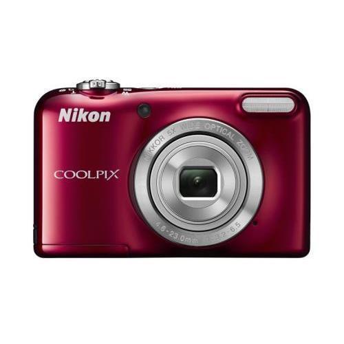 Cámara 3D Nikon Coolpix L31 - Rojo
