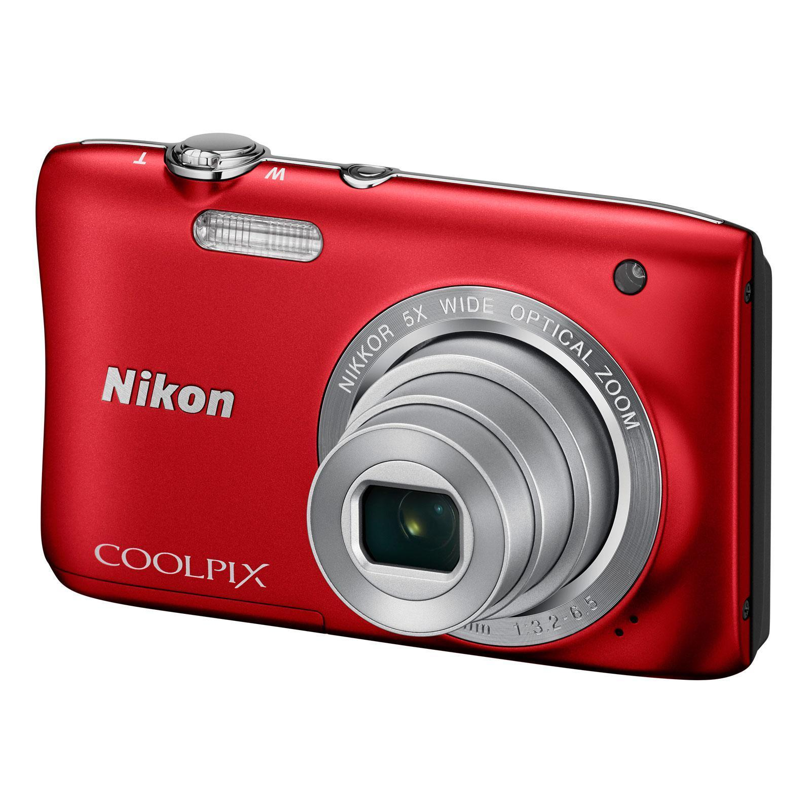 Nikon - COOLPIX S2900 - Rouge