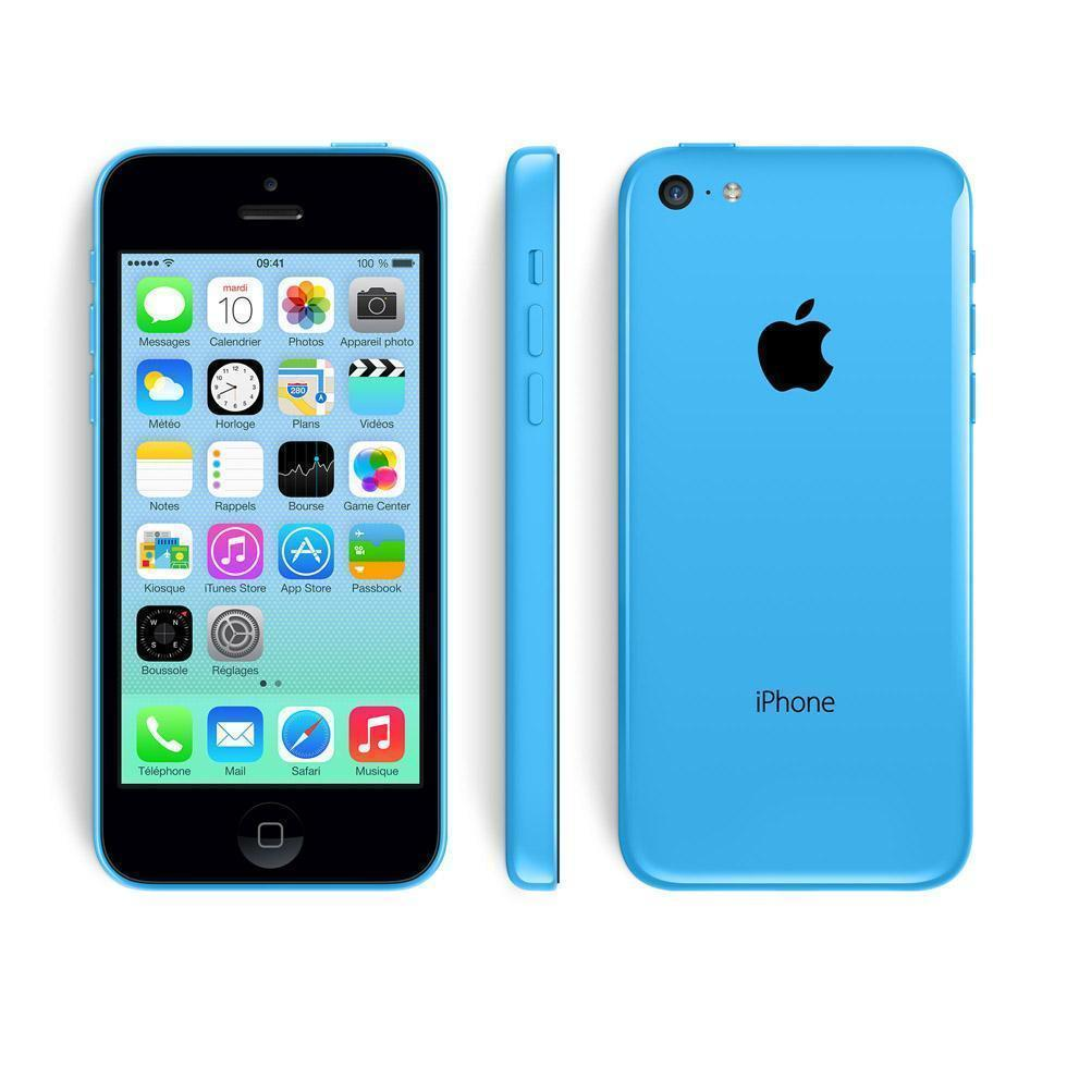 iPhone 5C 32GB - Blau - Orange