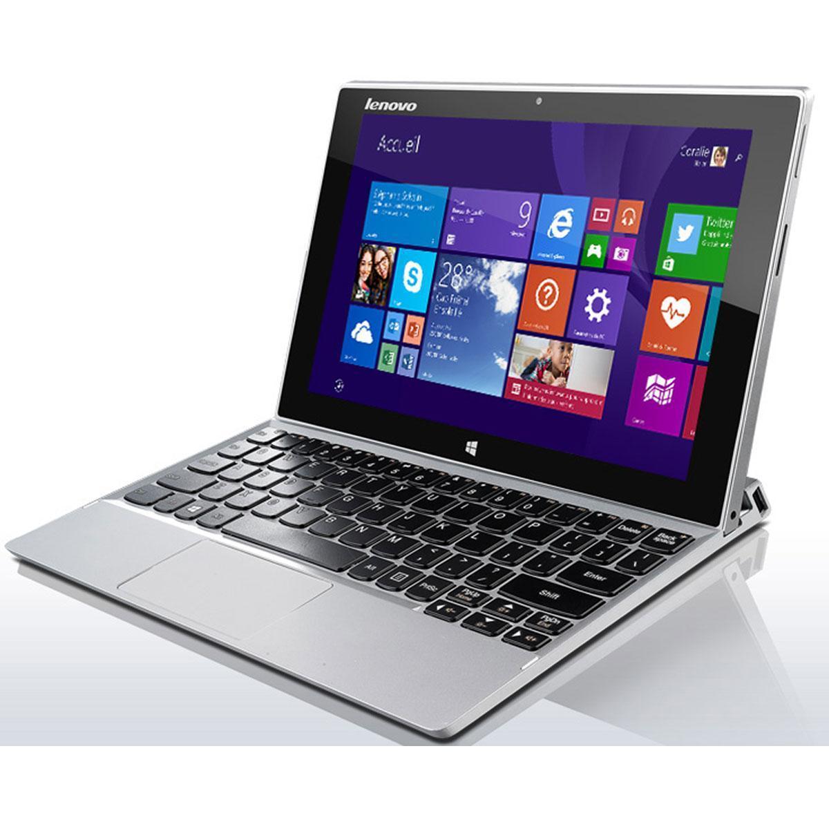 Lenovo Miix 2 59415690 -  1.6 GHz -  256 Go - RAM 4 Go - QWERTY