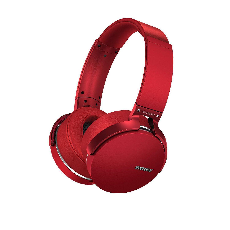 Sony - MDR-XB950BT/R Bluetooth + NFC - Rouge
