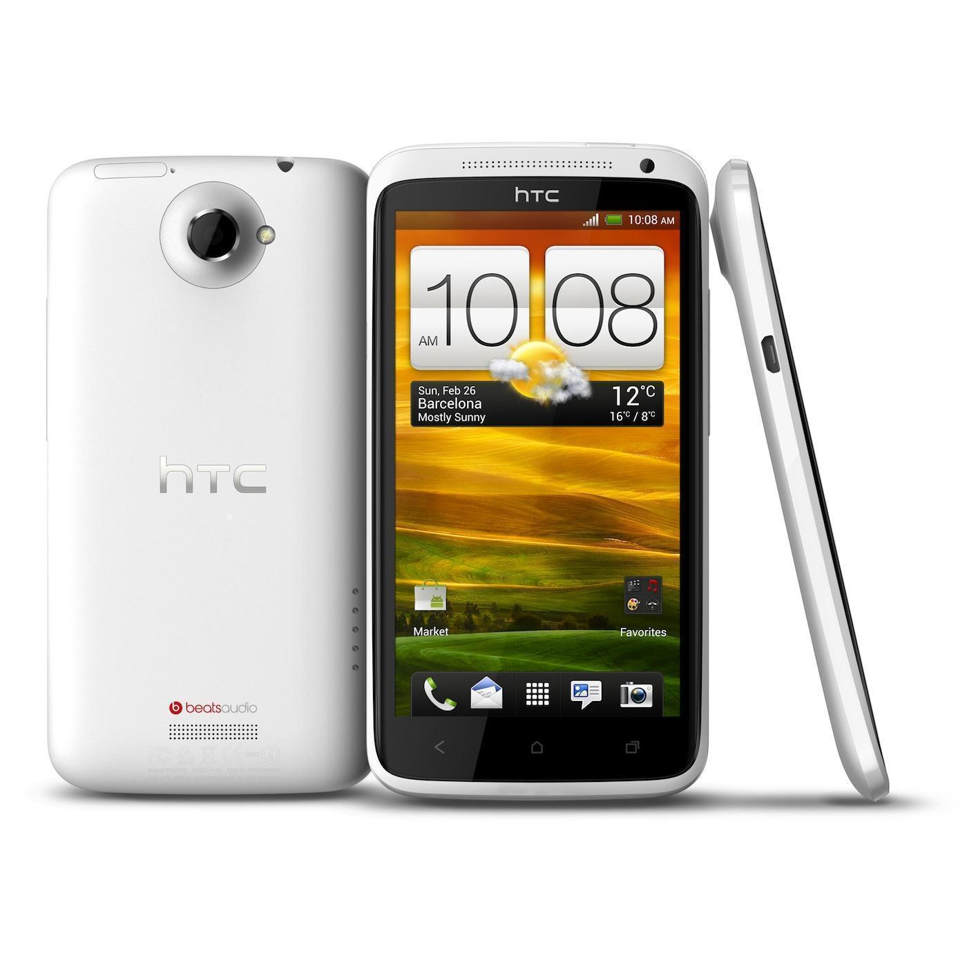 HTC One X 32 Go - Blanc - Débloqué