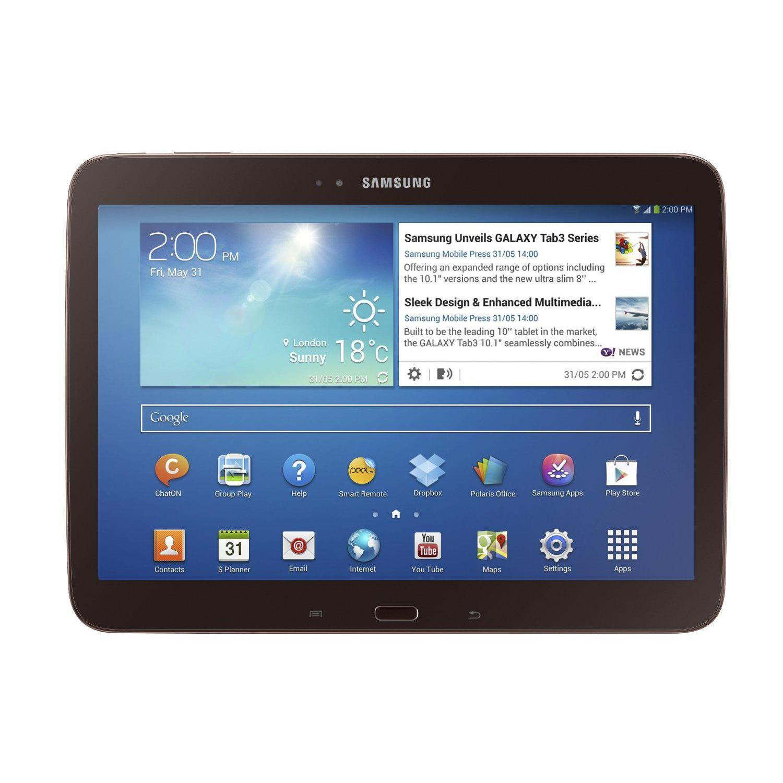 "Samsung Galaxy Tab 3 10"" 16 GB - Negro- Wifi"