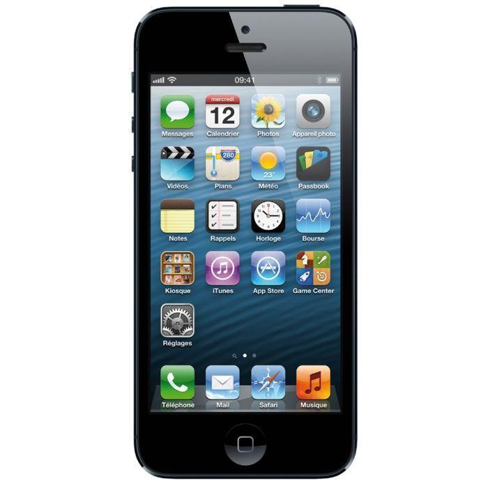 iPhone 5 64GB - Schwarz - SFR
