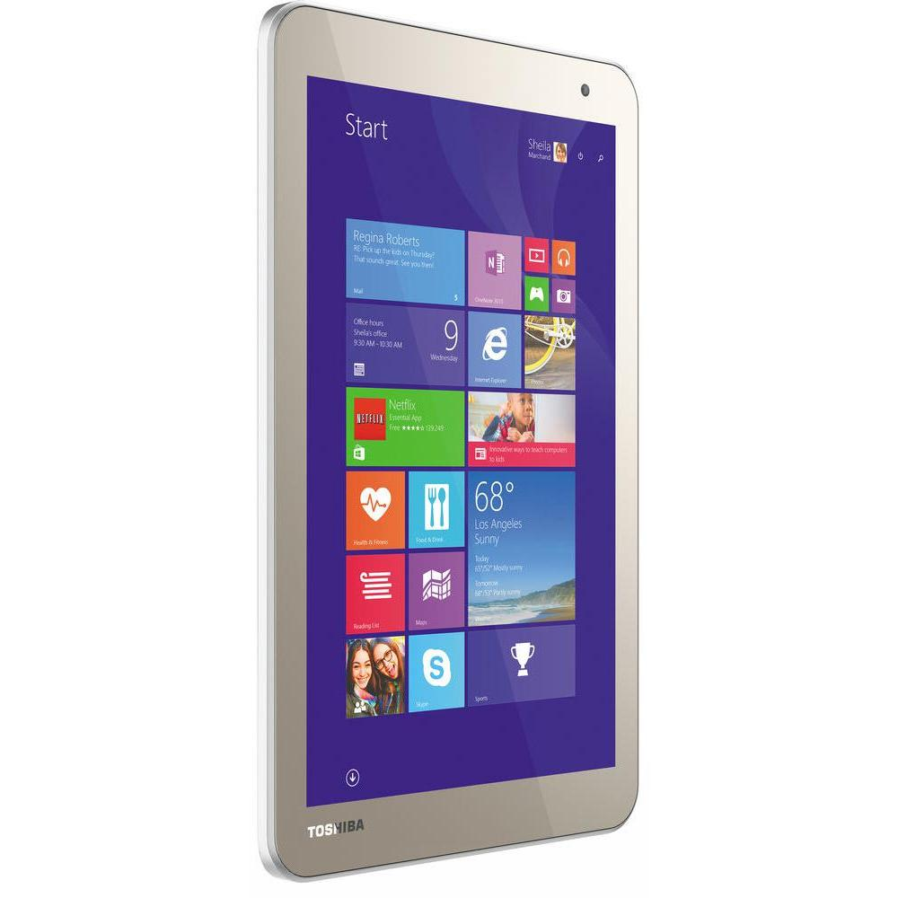"Toshiba ENCORE 2 WT8-B-001 - 8"" 64 Go - Wifi - Or"