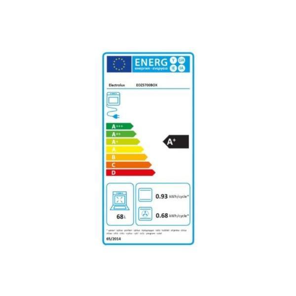 ELECTROLUX - Four multifonction pyrolyse - EOZ5700BOX