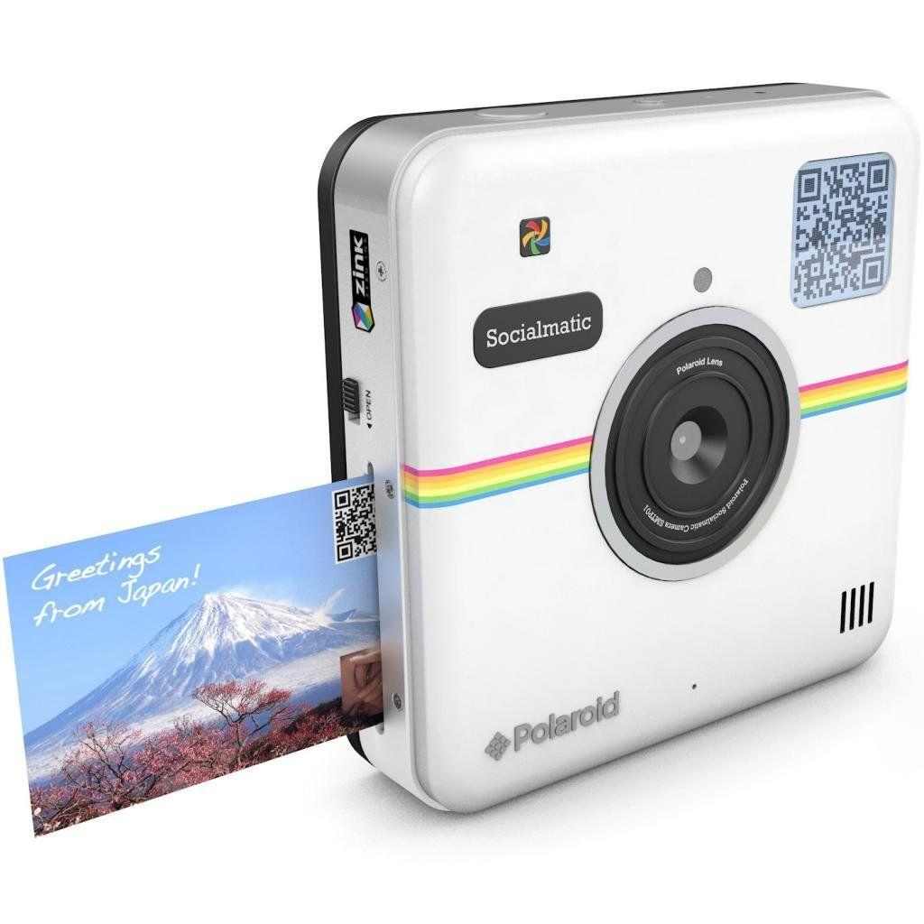 Polaroid - Socialmatic - Blanco