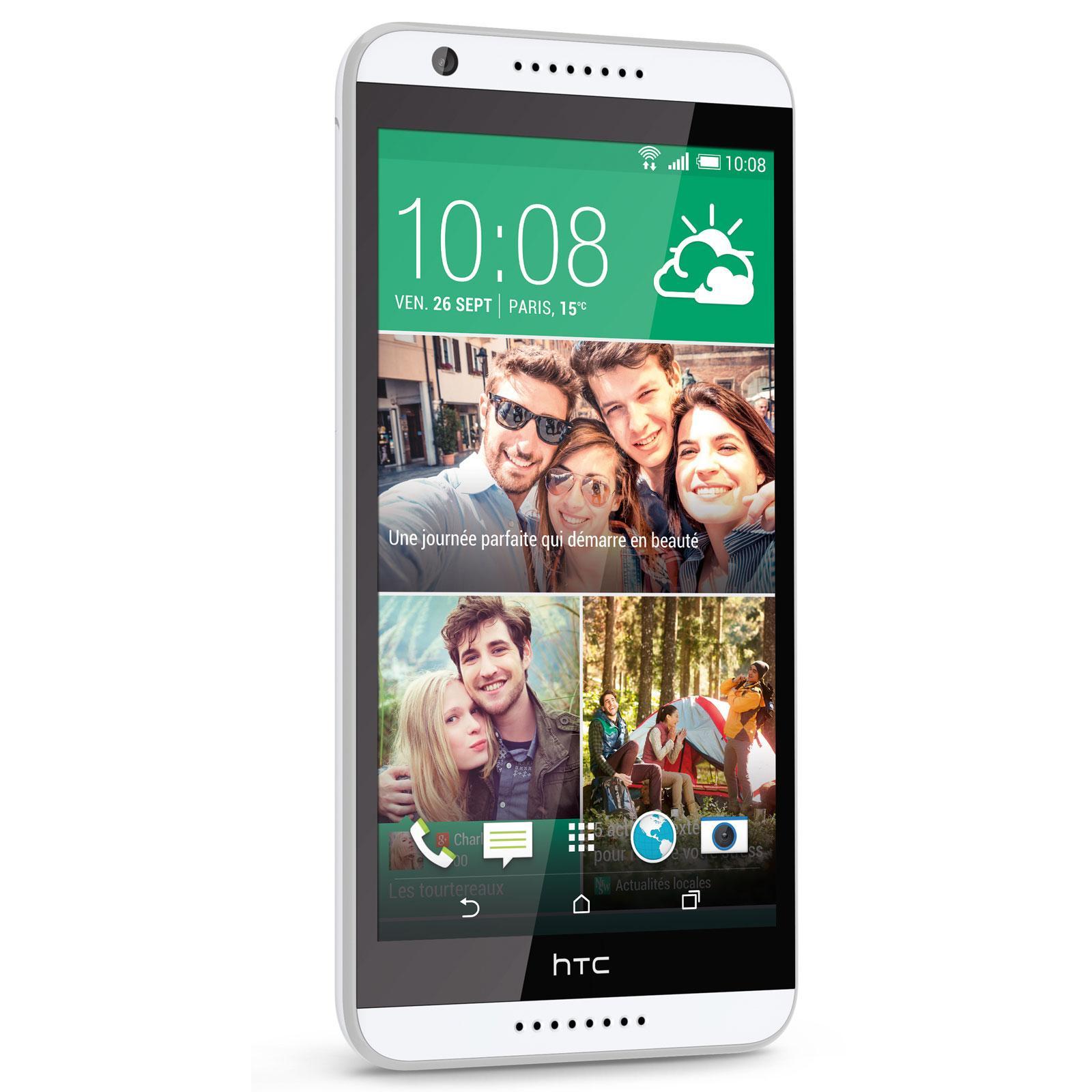 HTC Desire 820 16 Go - Blanc - Débloqué