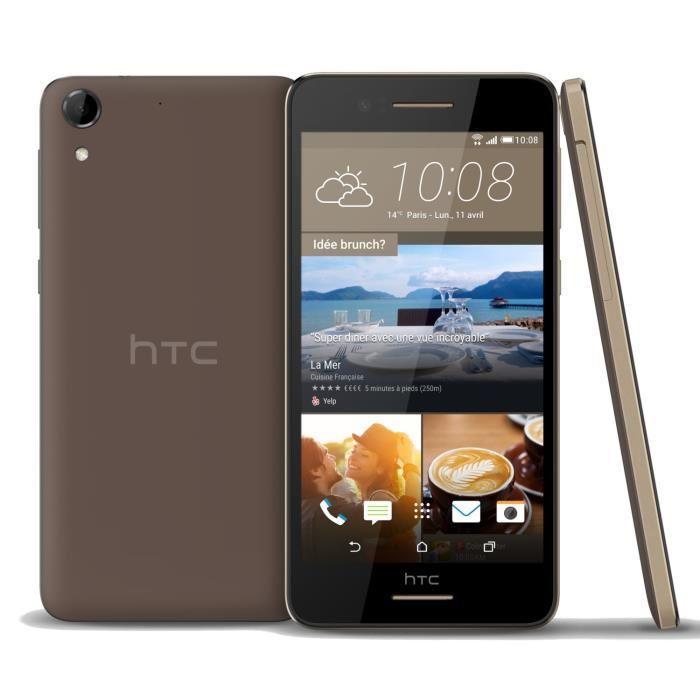 HTC Desire 728 16 Go - Marron - Débloqué