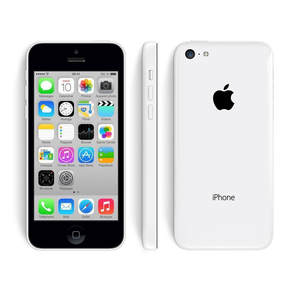 iPhone 5C 8 Go - Blanc - Orange