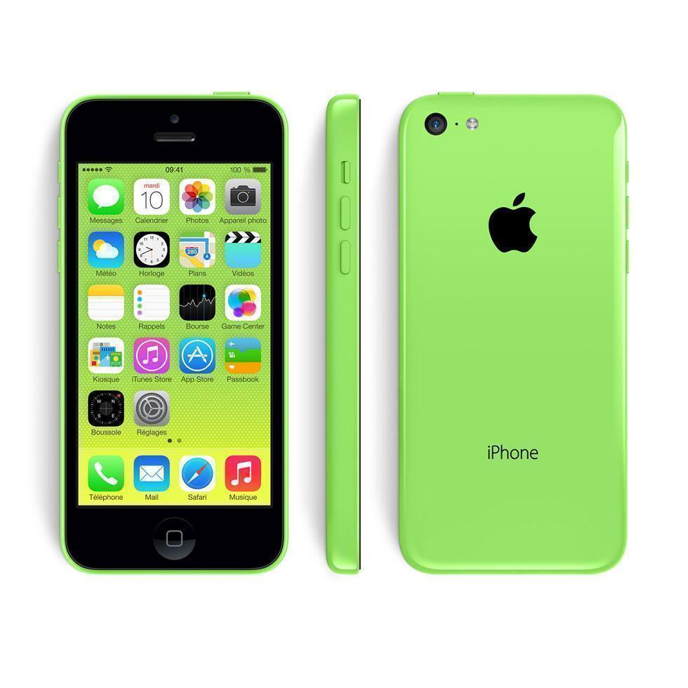 iPhone 5C 8 GB - Grün - Orange