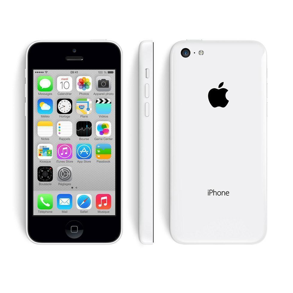 iPhone 5C 16 Go - Blanc - SFR