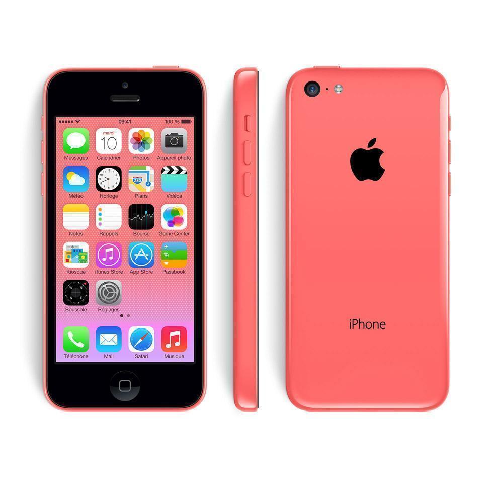 iPhone 5C 16 Go - Rose - Orange