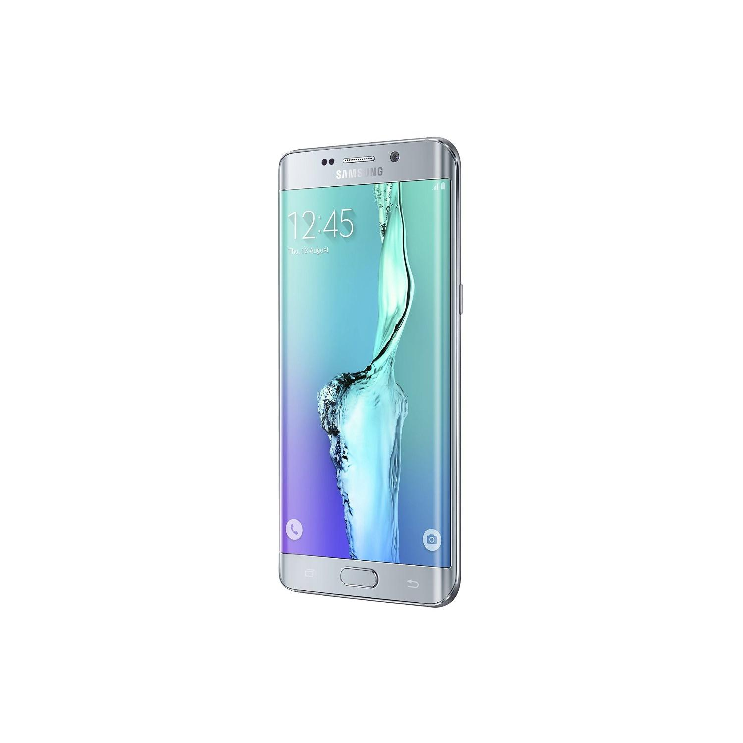 galaxy s6 edge plus 64 go argent d bloqu reconditionn back market. Black Bedroom Furniture Sets. Home Design Ideas