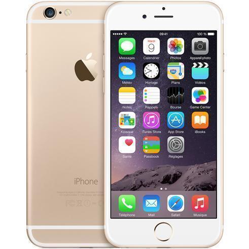 iPhone 6 16 Go - Or - Débloqué reconditionné