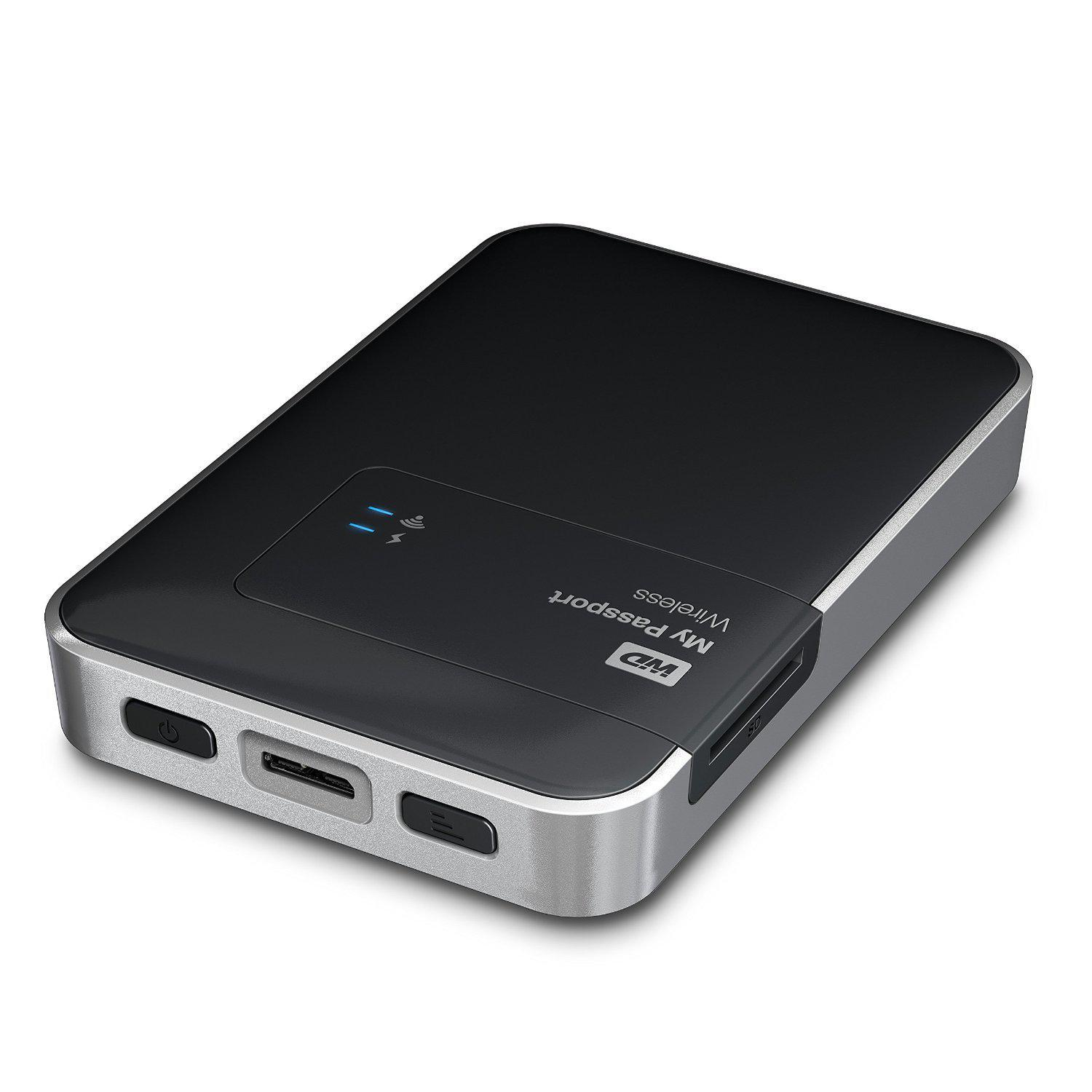 Western Digital - Disque dur externe My Passport Wireless 2 To