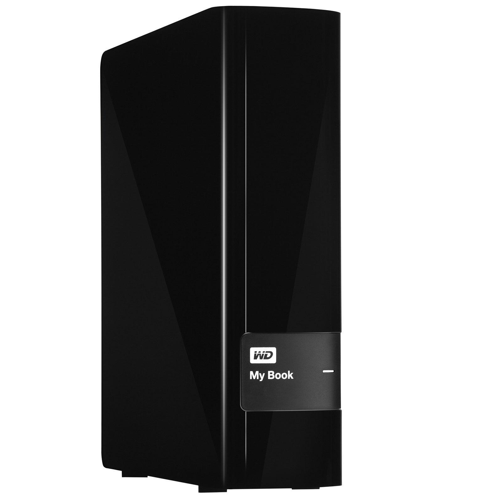 Western Digital - Disco duro externo WD My Book 4 TB (USB 3.0) para Mac