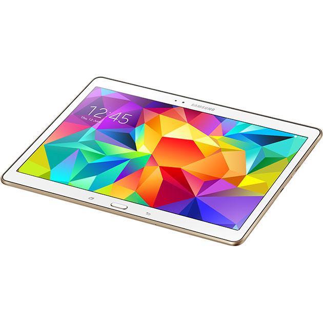 """Samsung SM-T805 - 10,5"""" 16 Go - 802.11n, Bluetooth 4.0 - BLANC"""