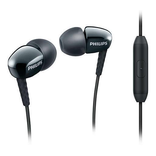 Philips - Écouteurs intra-auriculaires avec Micro SHE3905BK/00