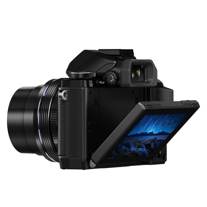 Olympus E-M10 OM-D Appareil photo numérique hybride 16,1 Mpix + Objectif 14-42mm - Noir