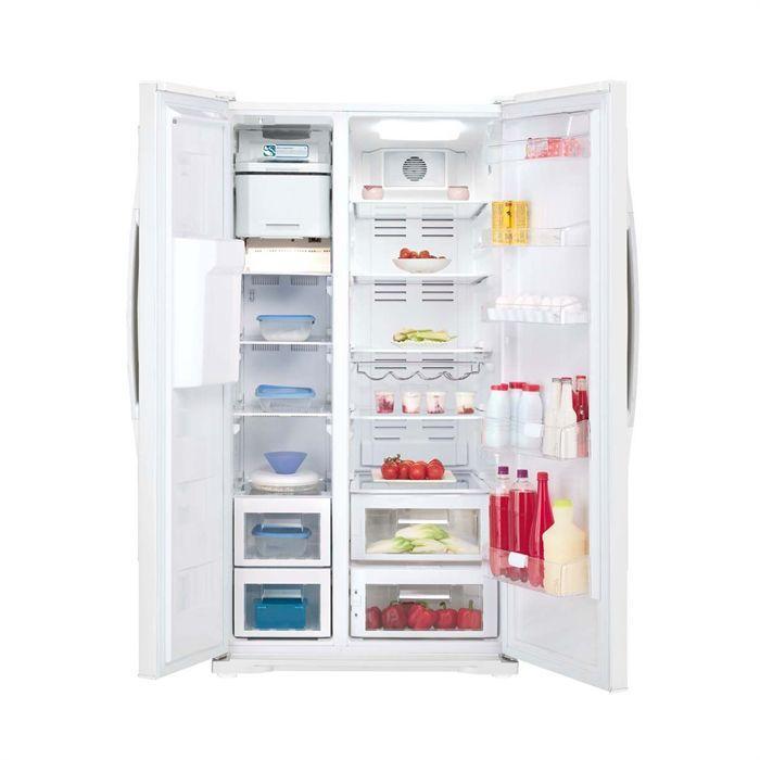 Beko - Réfrigérateur/congélateur Américain 526 litres net GNE V325W