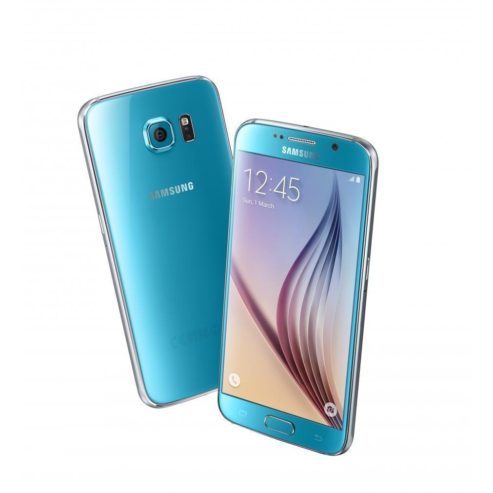 Samsung Galaxy S6 Edge 64 Go G925 4G - Bleu - Débloqué