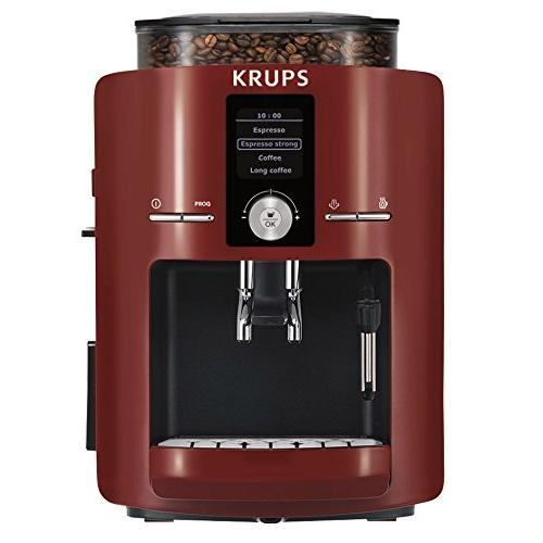 Krups - EA8255PN - Machine à espresso Piano Rouge-Noir