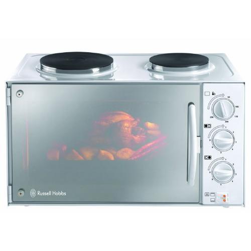 Russell hobbs - 13824-10 - Mini four avec plaques de cuisson 3000 W