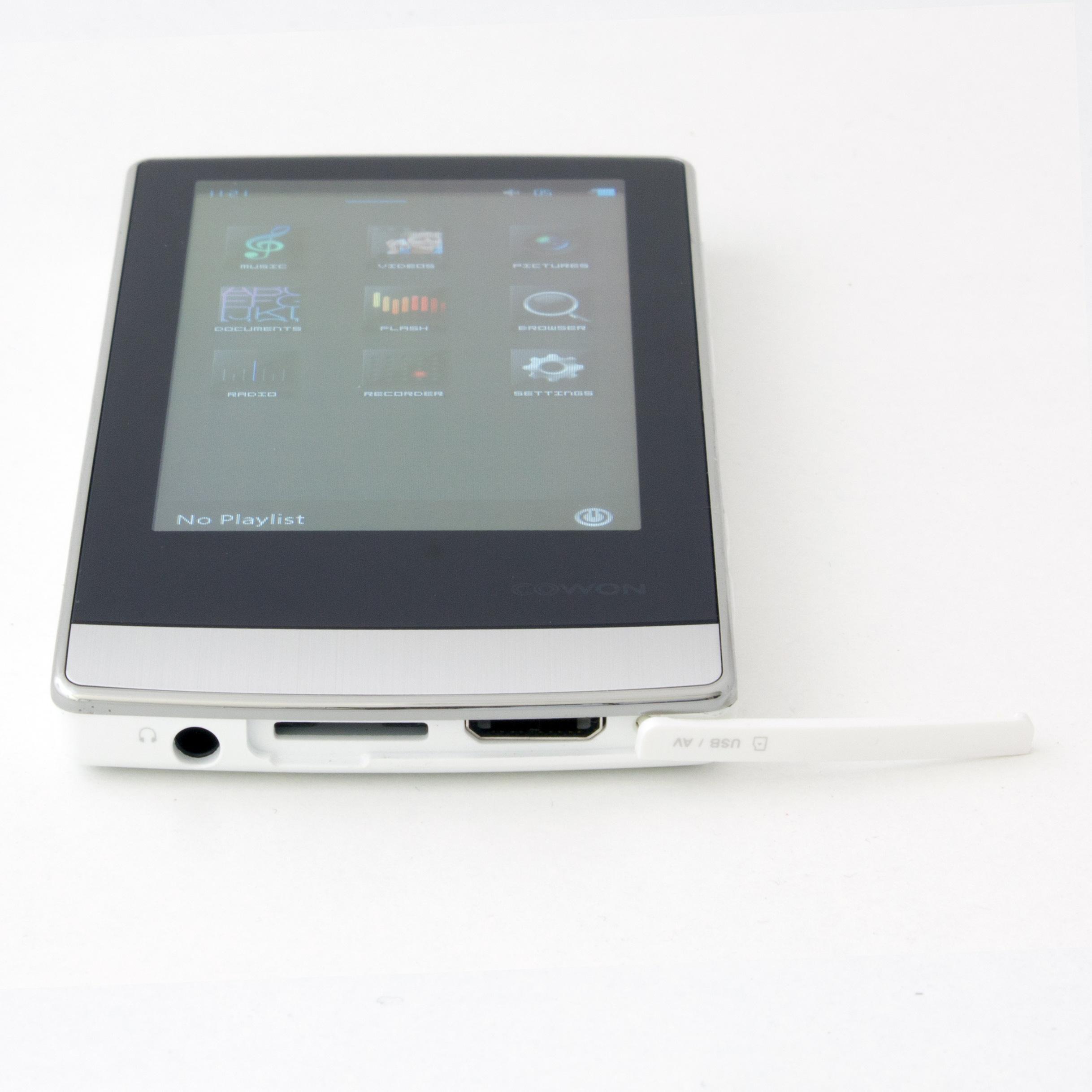 Lecteur MP3/MP4 écran tactile 3,3'' - 32Go extensible - Cowon J3