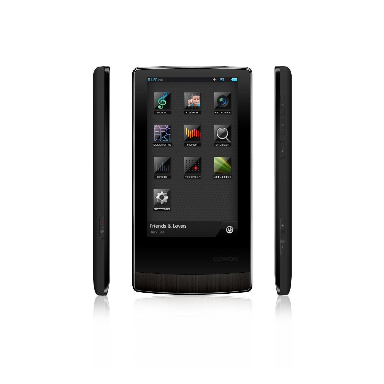 """Lecteur MP3/MP4 écran tactile 3,3"""" - 16Go extensible - Cowon J3 - Noir"""