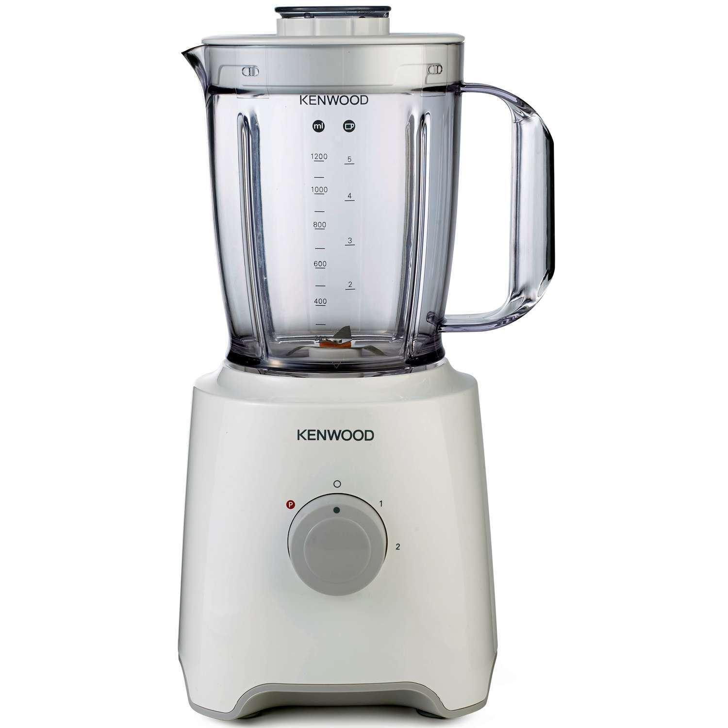 KENWOOD BLP302WH Blender 2 Vitesses Smoothie Maker Blanc