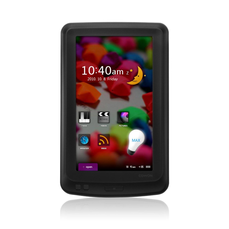 Cowon iAudio X7 Lecteur MP3/MP4 disque dur 160Go Écran tactile 4,3''  Noir