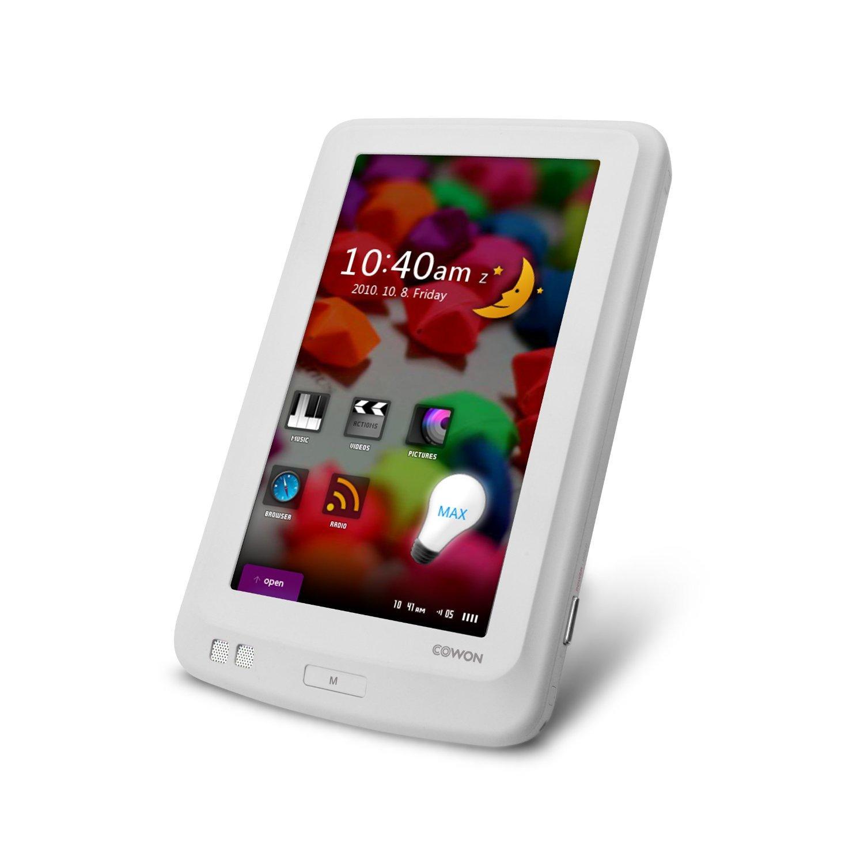 """Cowon iAudio X7 Lecteur MP3/MP4 disque dur 160Go Écran tactile 4,3""""  Blanc"""
