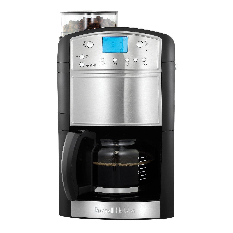Russell hobbs - 14899 - Cafetière avec moulin intégré Platinum 1,25 L