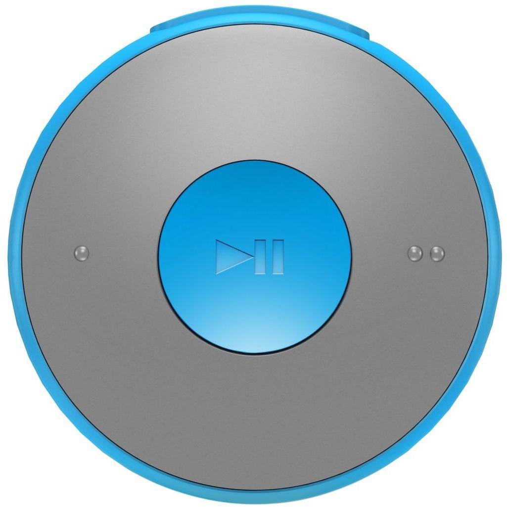 Philips GoGear MiniDot Lecteur MP3 Bleu 2Go