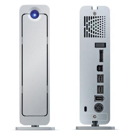 LaCie d2 Quadra - Disque dur externe 3,5'' - FireWire400/800 - USB - eSATA - 500Go