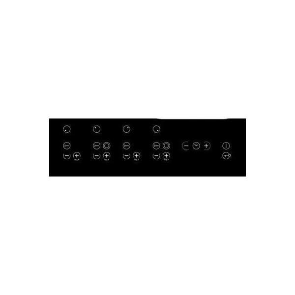 Table de cuisson - Vitrocéramique 4 foyers - SCHOLTES TRP 741 OL
