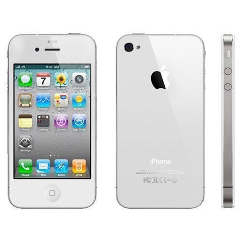 iPhone 4 8 Go - Blanc - Orange