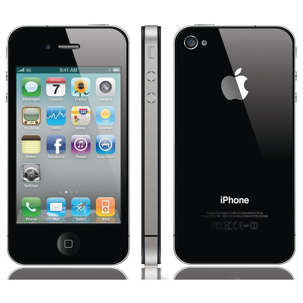 iPhone 4 16 Go - Noir - Bouygues