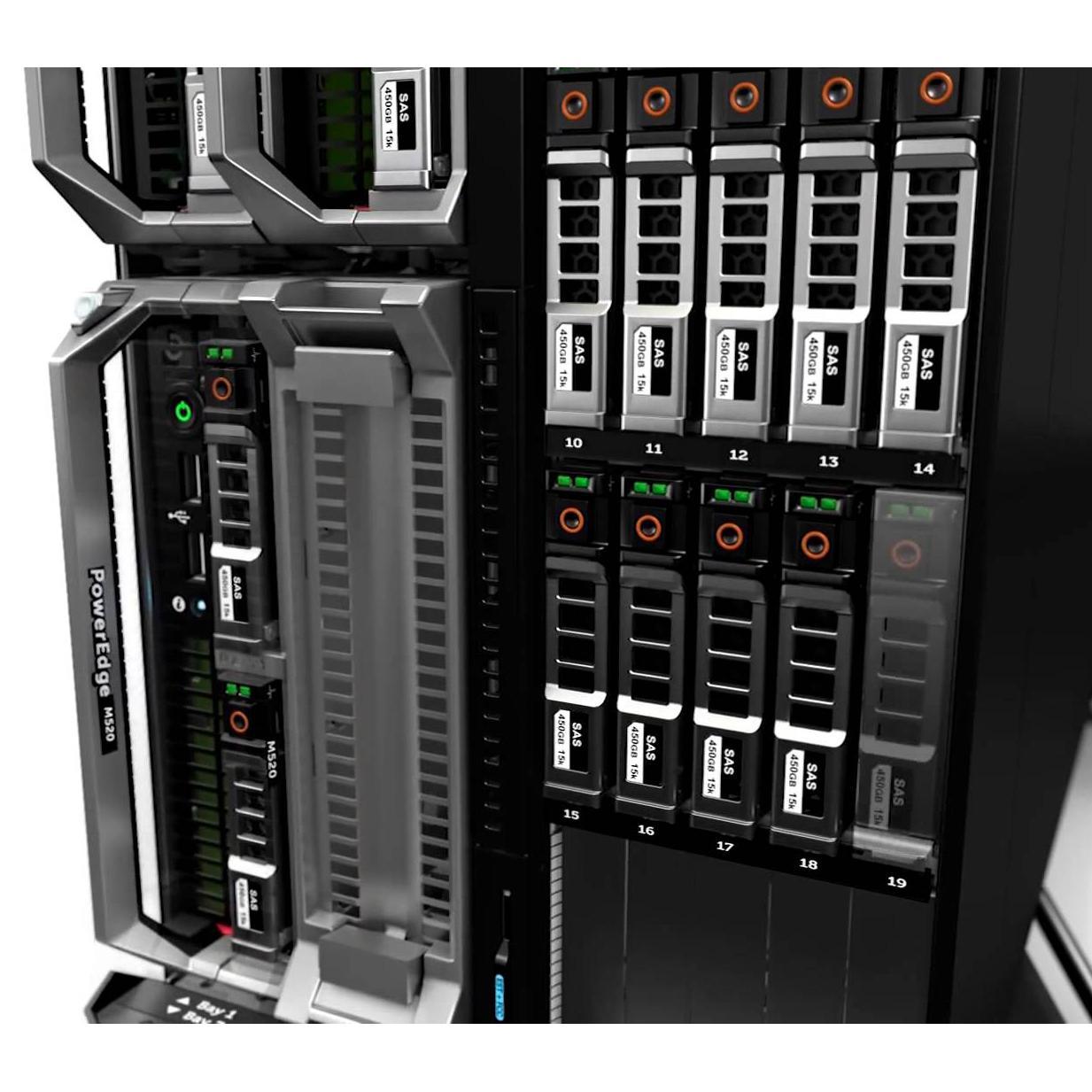 Dell Savvio 15K.2 Disque dur 2,5'' SAS - 6Gbps - 148Go - 15K