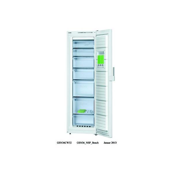 BOSCH - Congélateur Armoire GSN36CW32