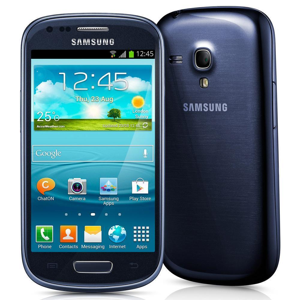 Samsung Galaxy S3 mini I8190 - Bleu - 8 Go
