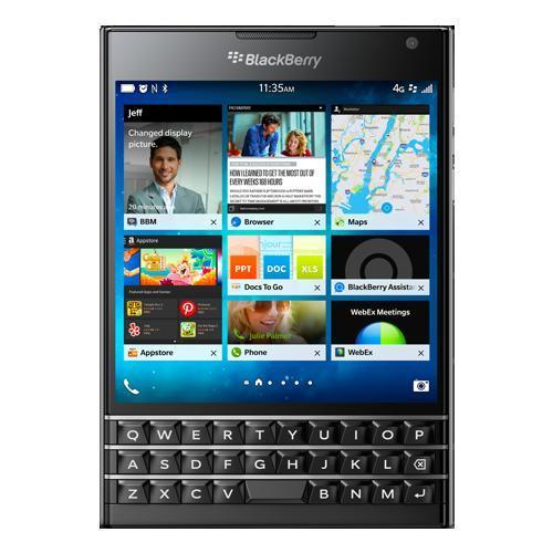 BlackBerry Passport 32 Gb - teclado Qwerty - Plata - Libre