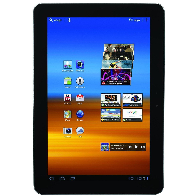 """Samsung Galaxy Tab GT-P5110 - 10.1"""" 16 Go - 3G - Noir"""