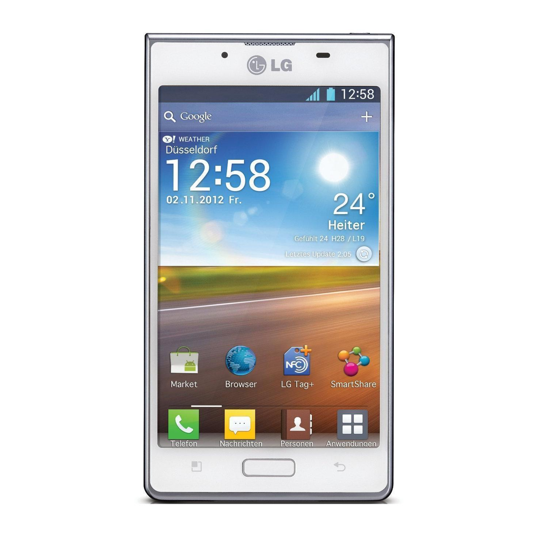 LG Optimus L7 4GB - weiß - Ohne Vertrag