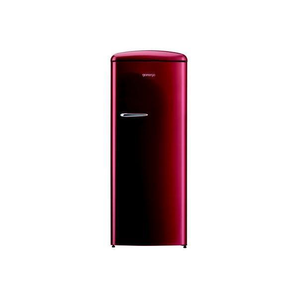Réfrigérateur GORENJE ORB153R ROUGE BORDEAUX